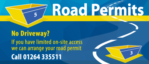 Skip hire road permits - ask Andover Skip Hire